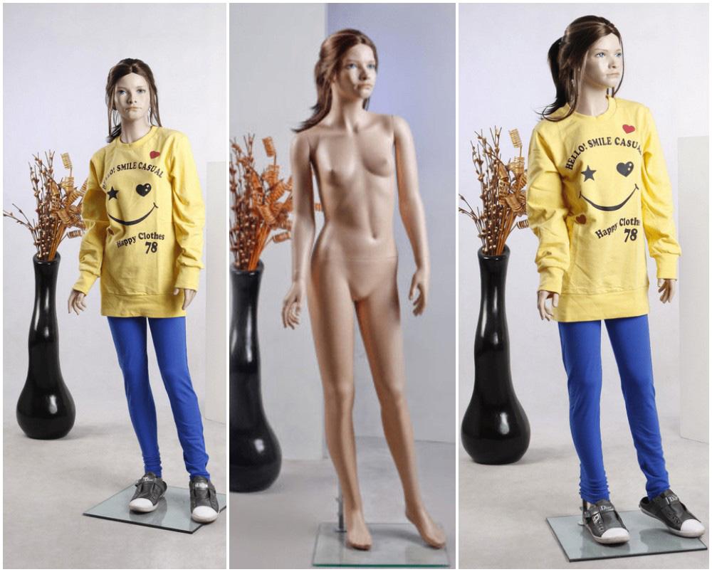 ZM-2204 - Kristen - Cute Teen Girl Realistic Mannequin