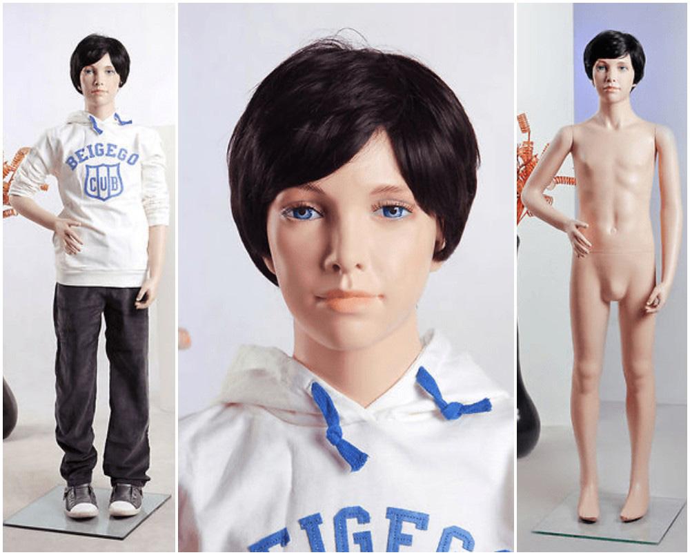 ZM-2208 - Charlie - Teen Boy Realistic Mannequin