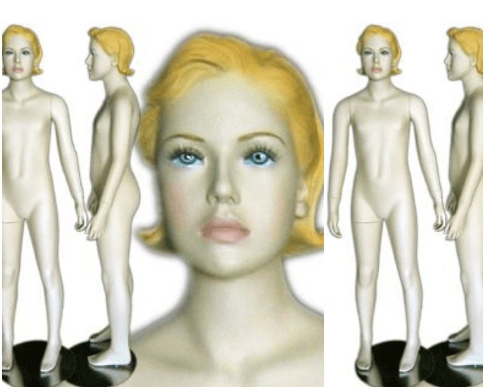 ZM-2209 - Nataly - Semi-Realistic Teen Girl Mannequin