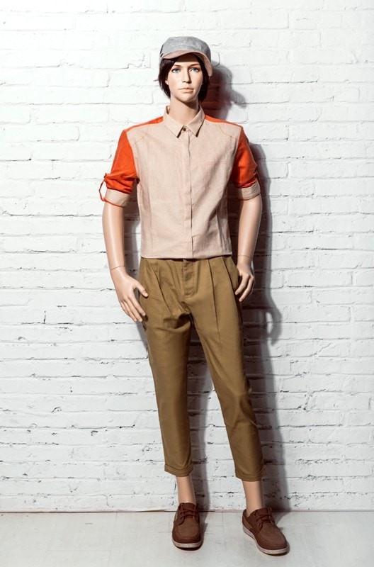 ZM-2210 - Rylan - Teen Boy Realistic Mannequin