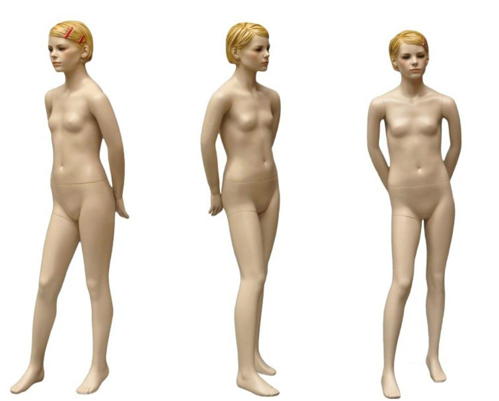 ZM-2211 - Tara - Realistic Flesh Tone Teen Girl Mannequin