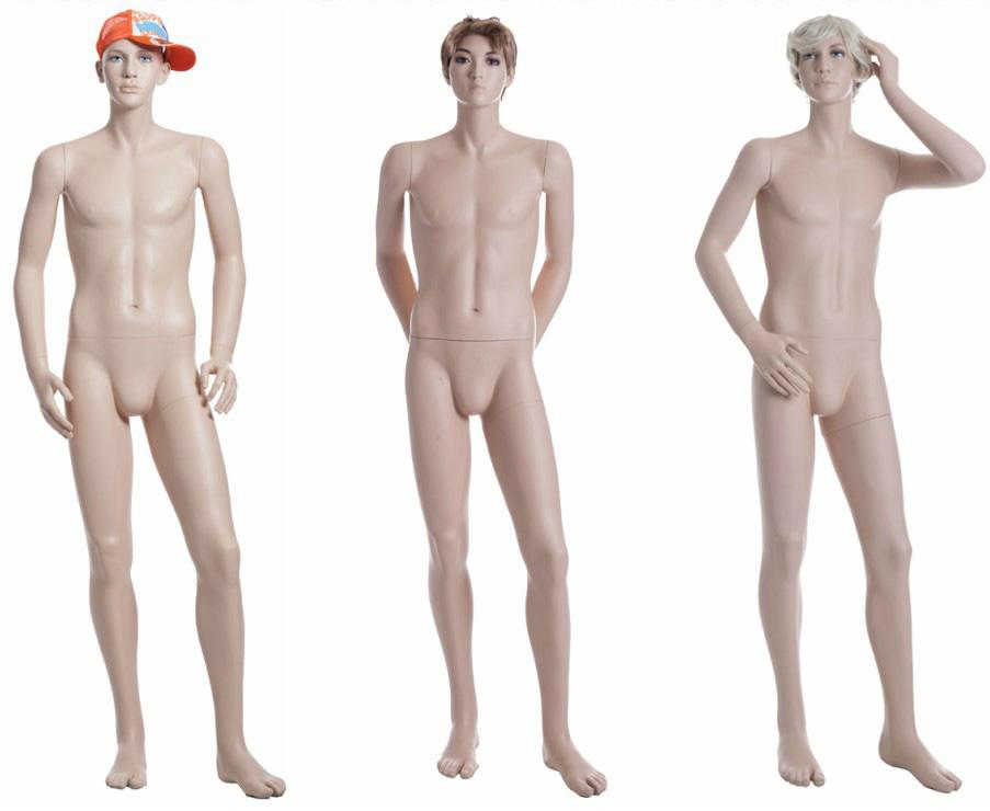 ZM-2212 - Derek - Male Teen Realistic Mannequin