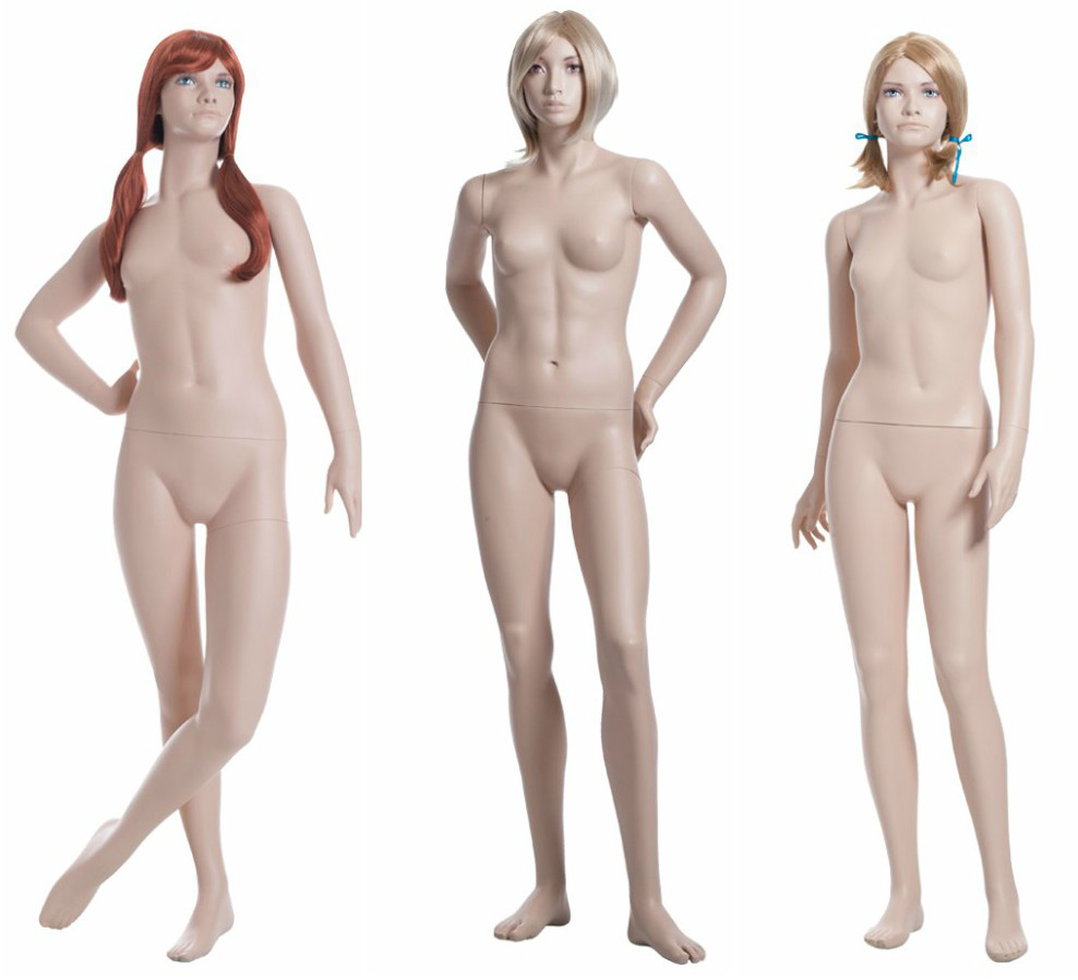 ZM-2214 - Estelle - Teen Realistic Flesh Tone Mannequin