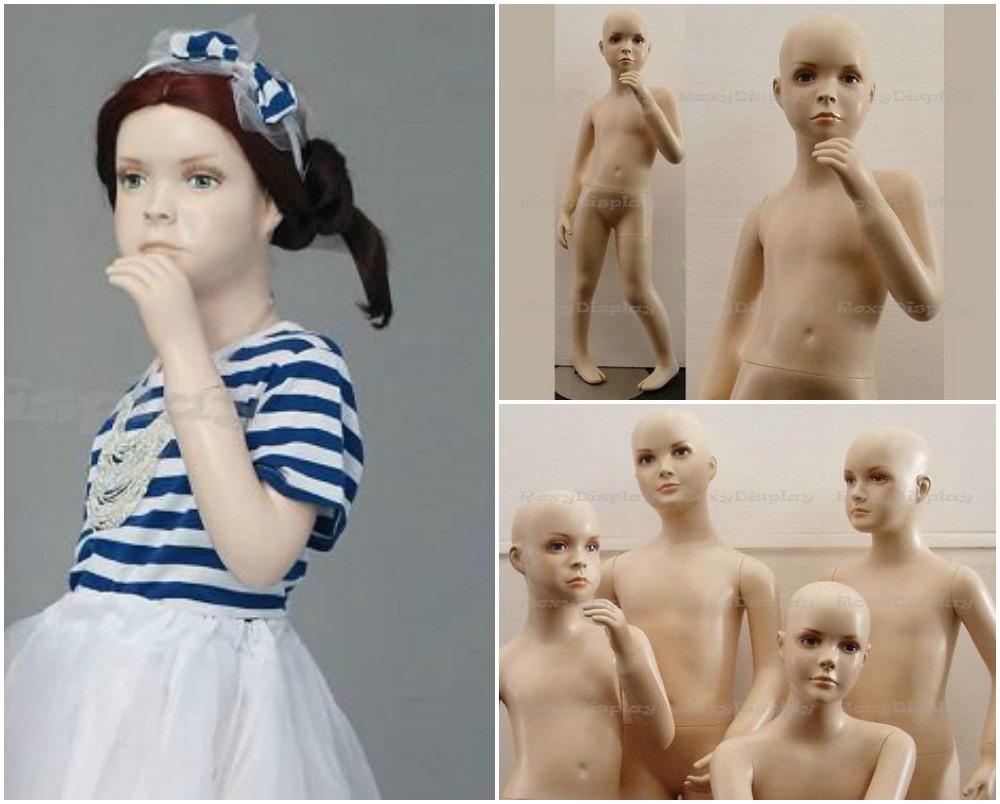 ZM-2312 - Kalani - Realistic Girl Child Mannequin