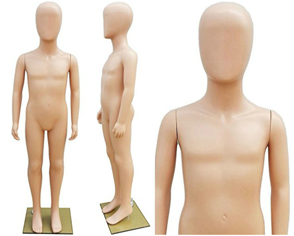 ZM-2314 - Joyce - Abstract Flesh Tone Child Mannequin