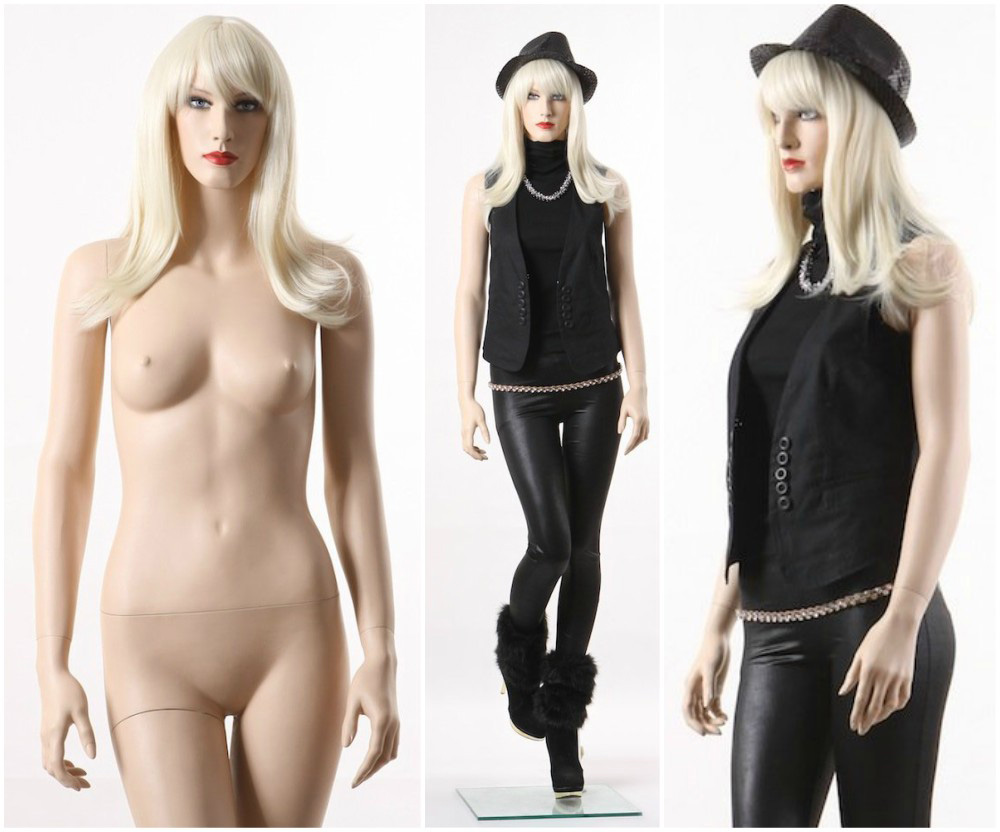 ZM-2501 - Claire - Beautiful Realistic Female Fashion Mannequin