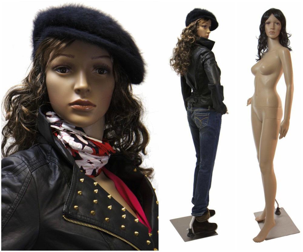 ZM-2504 - Alexa - Classic Realistic Female Fashion Mannequin