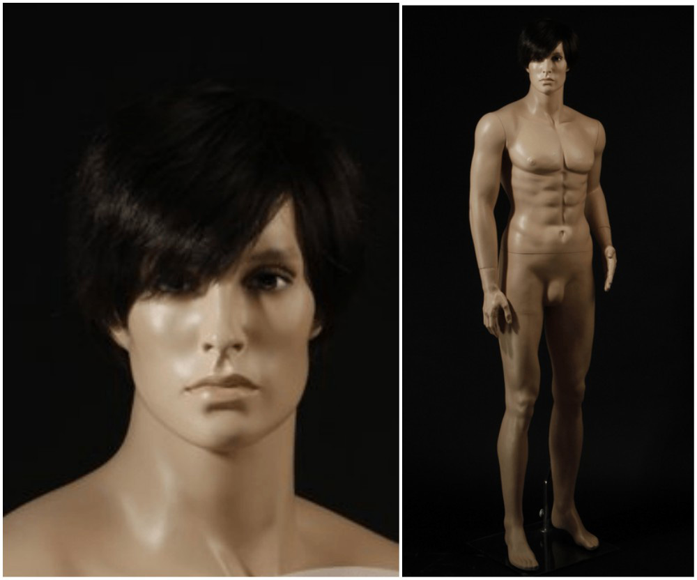 ZM-2509 - Carter - Muscular Tall Male Fashion Mannequin