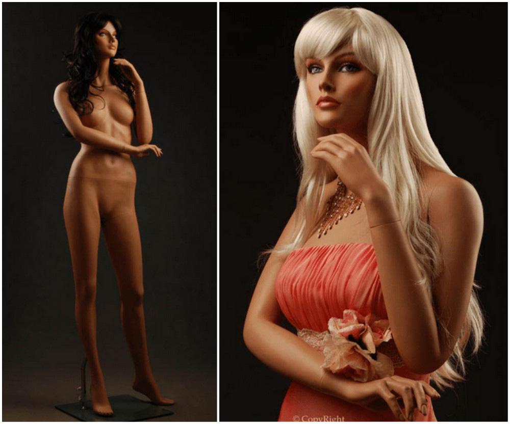 ZM-2510 - Scarlett - Realistic Beautiful Female Fashion Mannequin