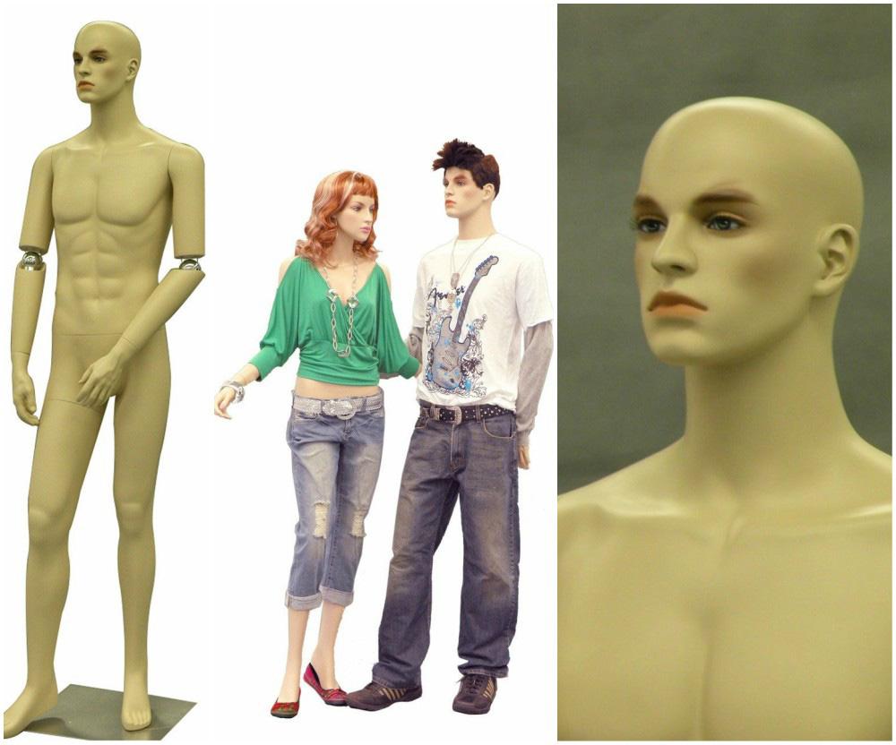 ZM-2514 - Joshua - Flexible Hands Realistic Male Fashion Mannequin