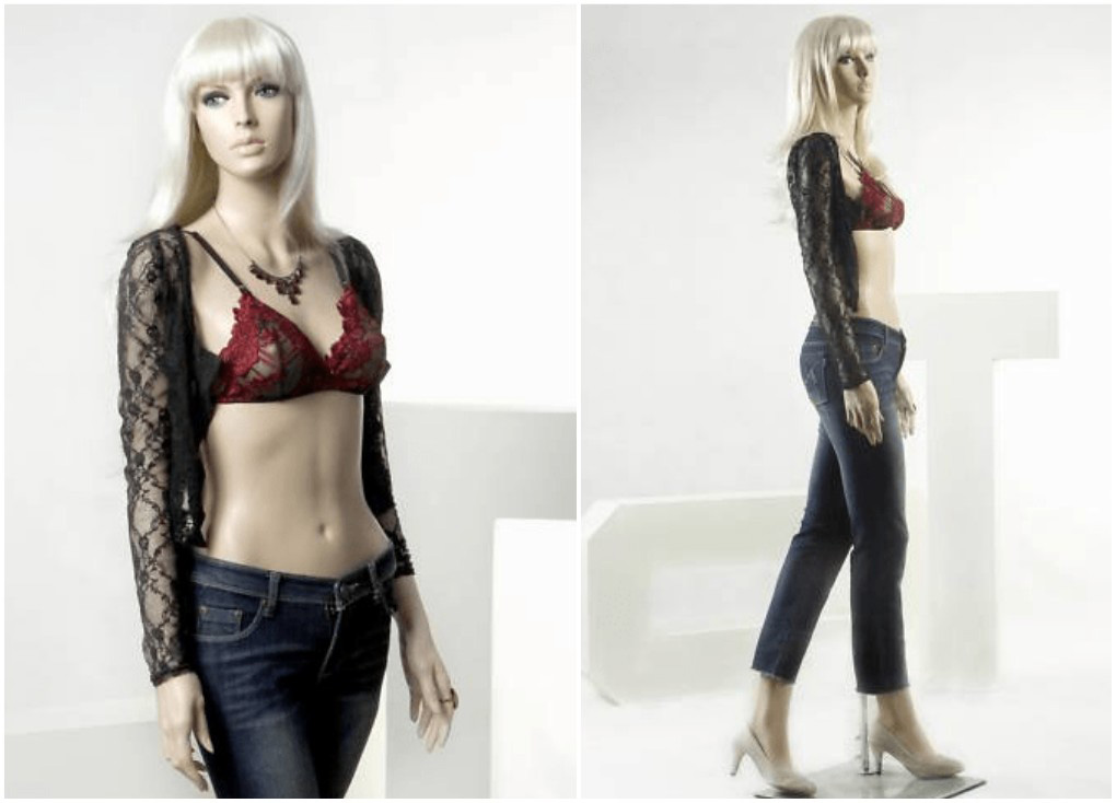 ZM-302 - Alexa - Tall Supple Female Realistic Mannequin