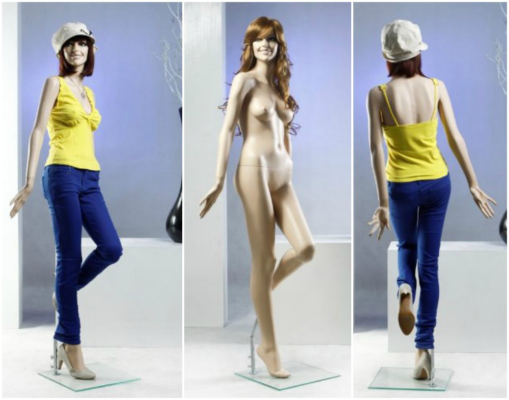 ZM-304 - Camila - Supple Posing Female Realistic Mannequin