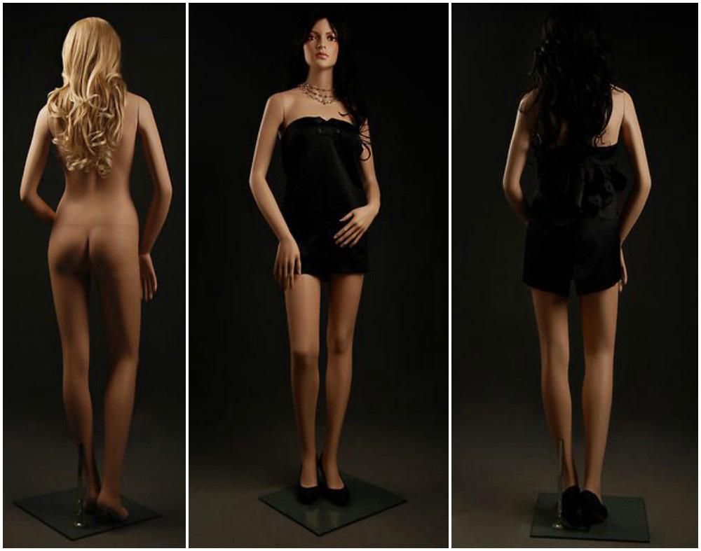 ZM-305 - Zoe - Elegant Sexy Female Realistic Mannequin
