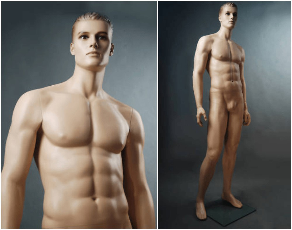 ZM-307 - Jayden - Muscular Male Realistic Mannequin
