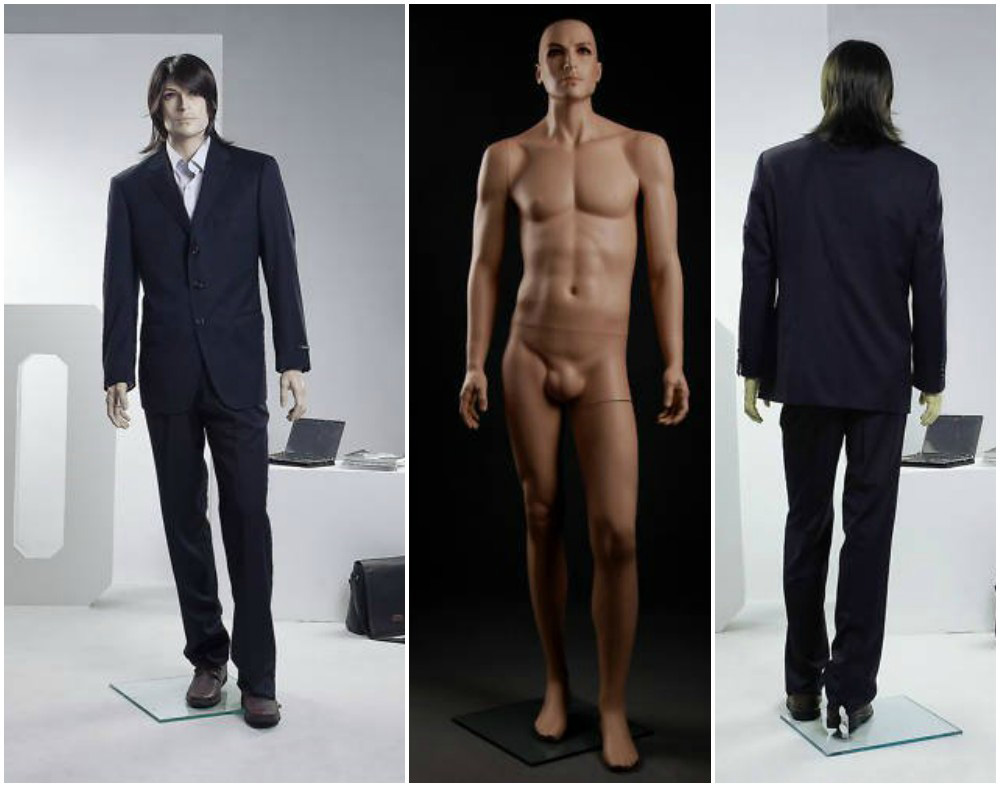 ZM-308 - Gabriel - Tall Male Realistic Mannequin