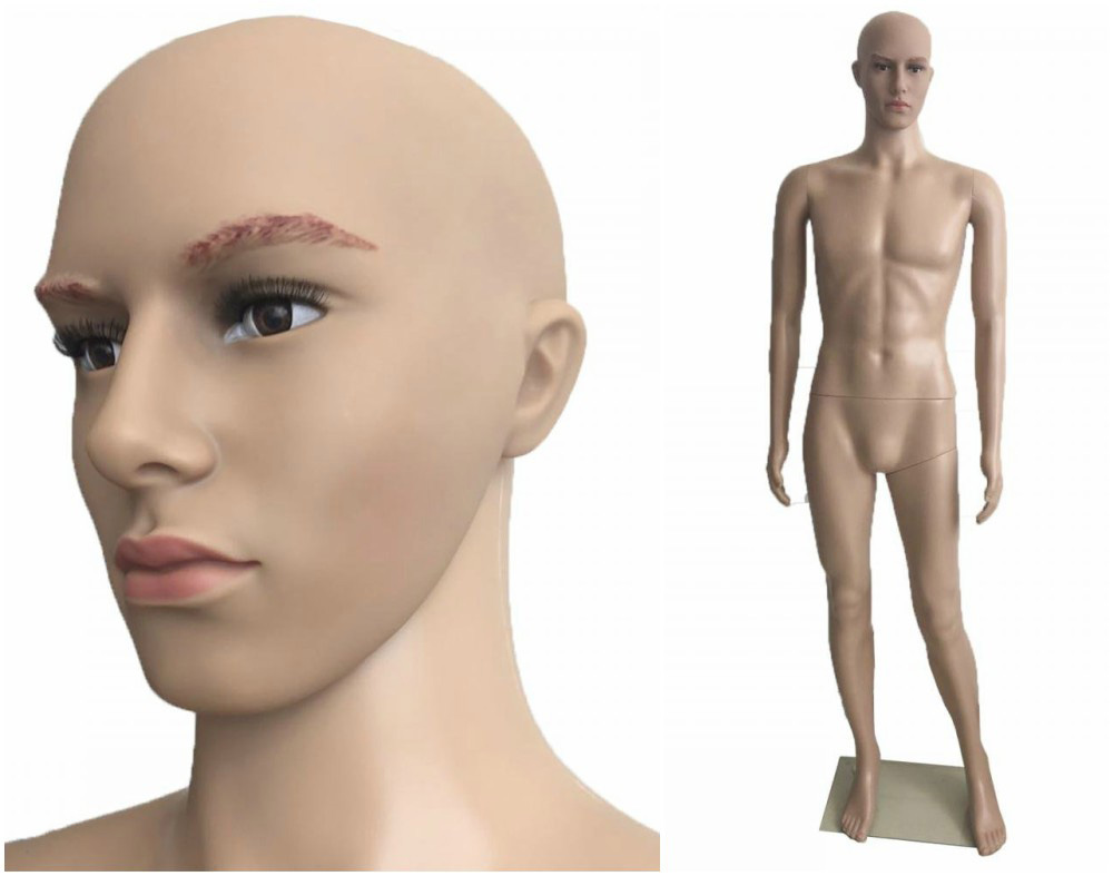 ZM-309 - Kobe - Tan Realistic Male Mannequin