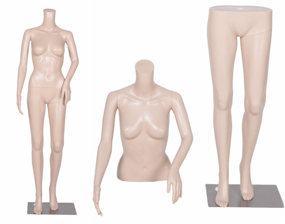 ZM-506 - Mila - Tan Headless Realistic Female Mannequin