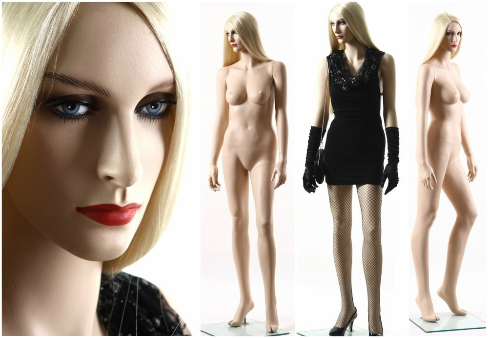 ZM-801 - Tessa - Beautiful Slim Tall Sexy Realistic Female Mannequin
