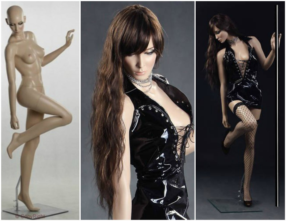 ZM-802 - Sienna - Elegant Sexy Seductive Female Mannequin