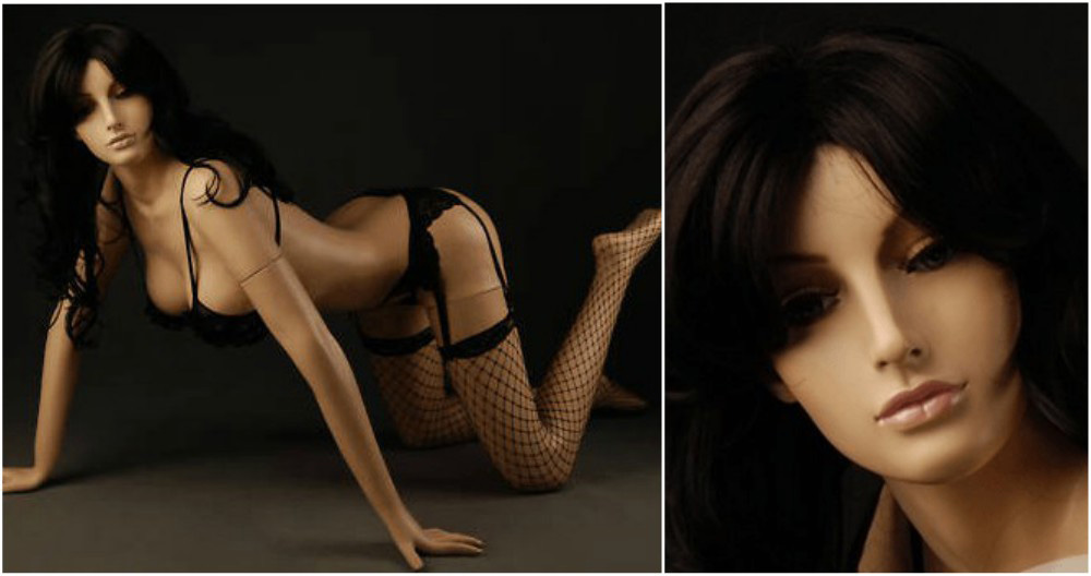 ZM-805 - Athena - Sexy Seductive Realistic Female Mannequin