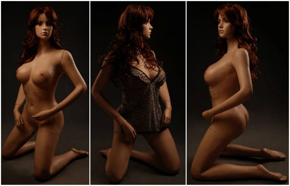 ZM-808 - Sara - Posing Realistic Flesh Tone Sexy Mannequin