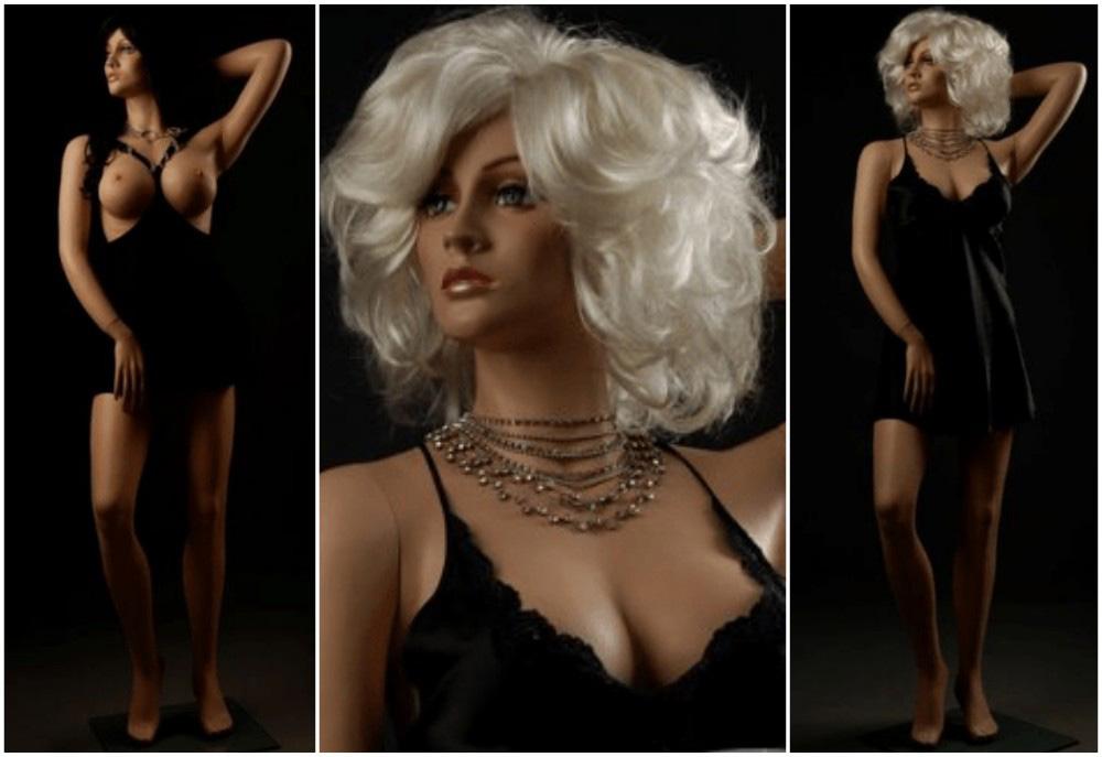 ZM-809 - Arya - Elegant Sexy Slim Realistic Mannequin