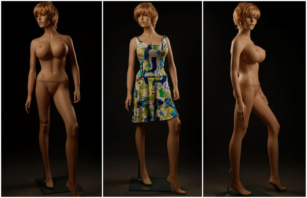 ZM-813 - Adriana - Tall Busty Sexy Realistic Female Mannequin