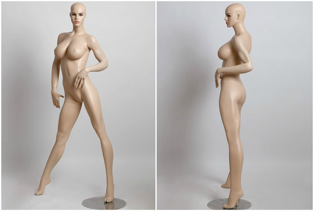 ZM-814 - Destiny - Sexy Busty Realistic Tall Female Mannequin