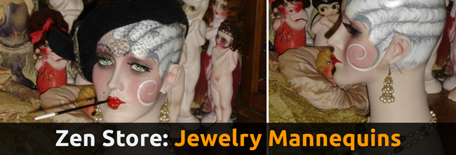 Jewelry Mannequins for Sale