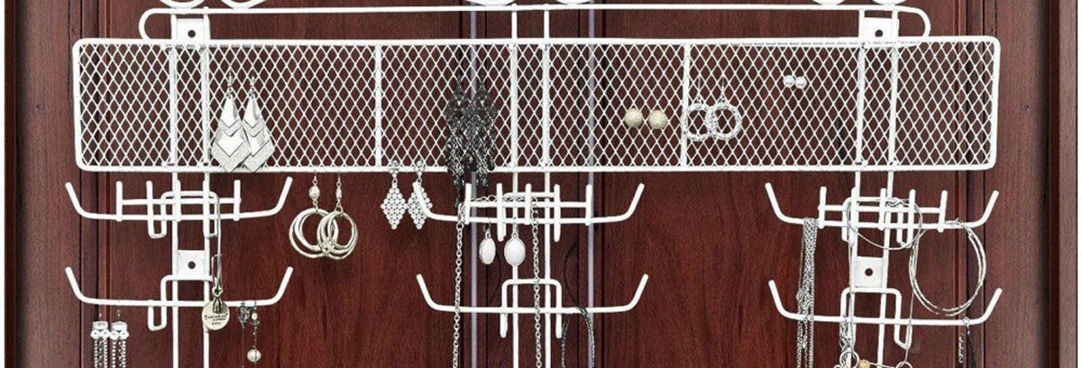 The Best Over The Door Jewelry Organizers