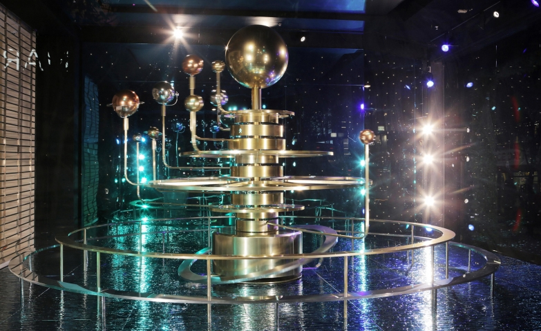 """Selfridges has a different theme for Christmas window display, and it's called """"Journey to the stars""""."""