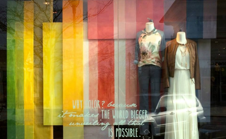 Anthropologie 2015 spring window display