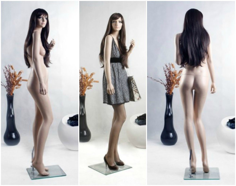 ZM-2906 - Kate - Sexy Realistic Posing Tall Female Mannequin