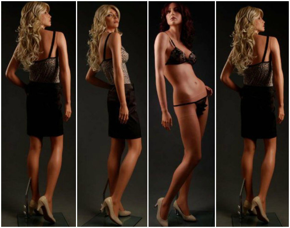 ZM-2907 - Jayla - Sexy Realistic Tall Female Mannequin
