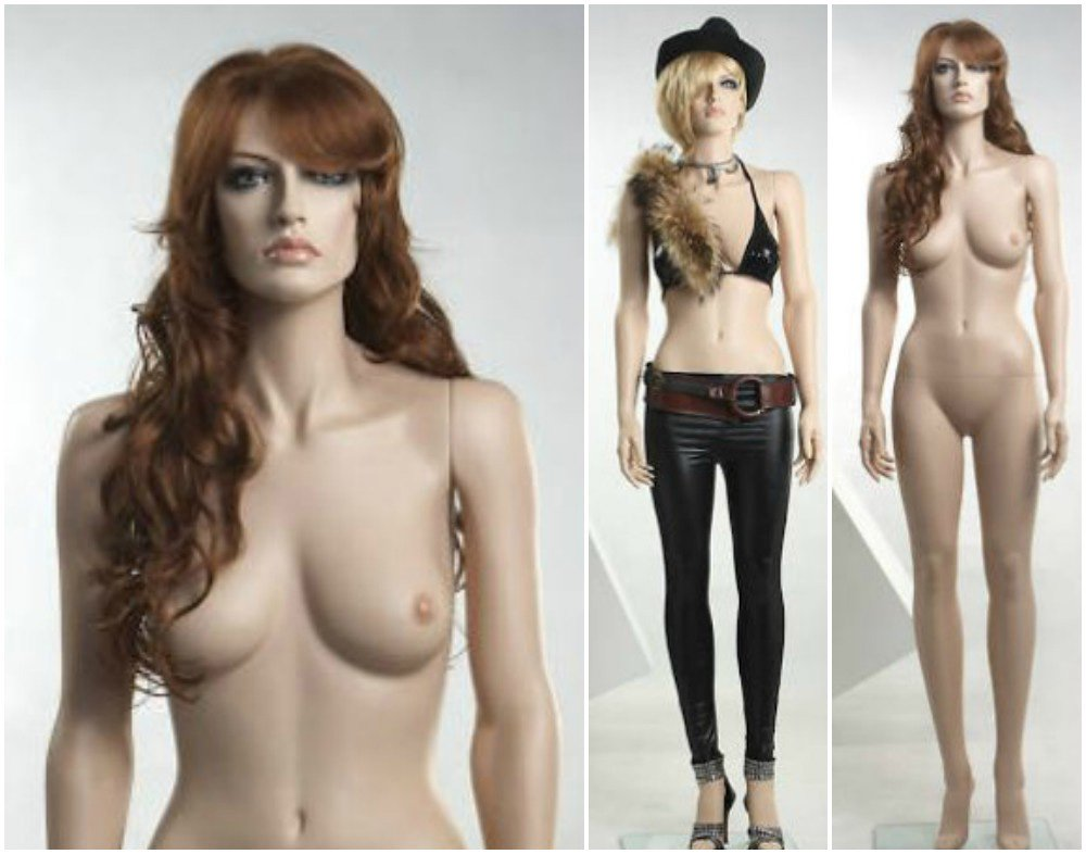 ZM-2908 - Layla - Beautiful Realistic Tall Female Mannequin