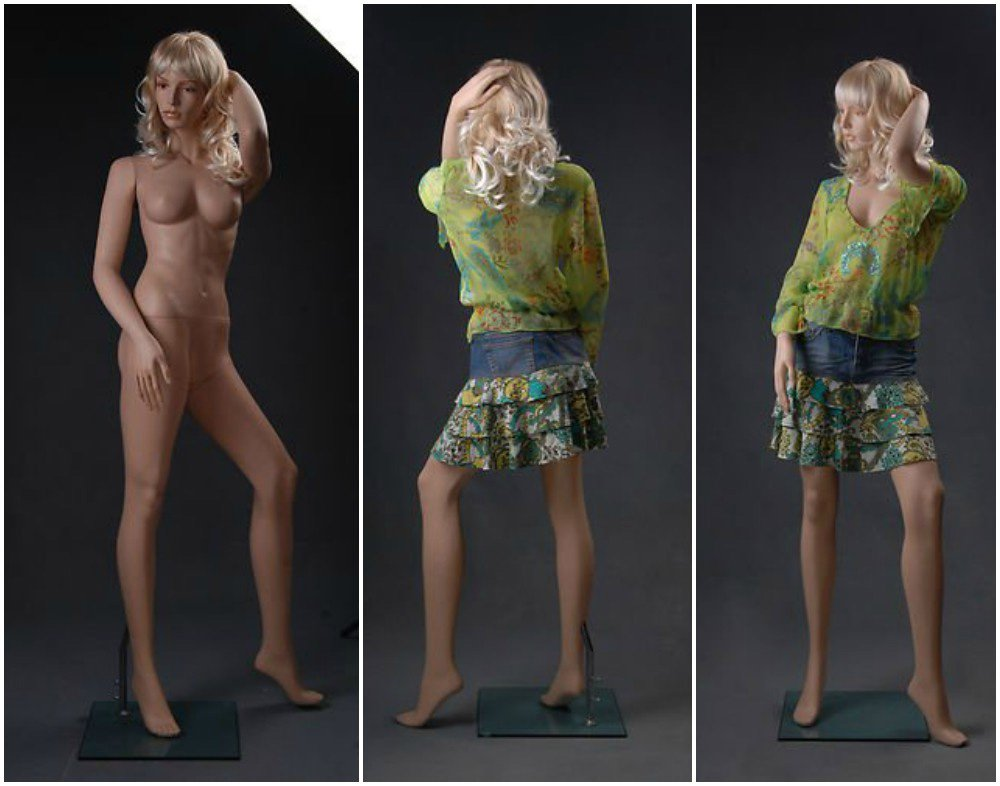 ZM-2909 - Cali - Tall Sexy Realistic Female Mannequin