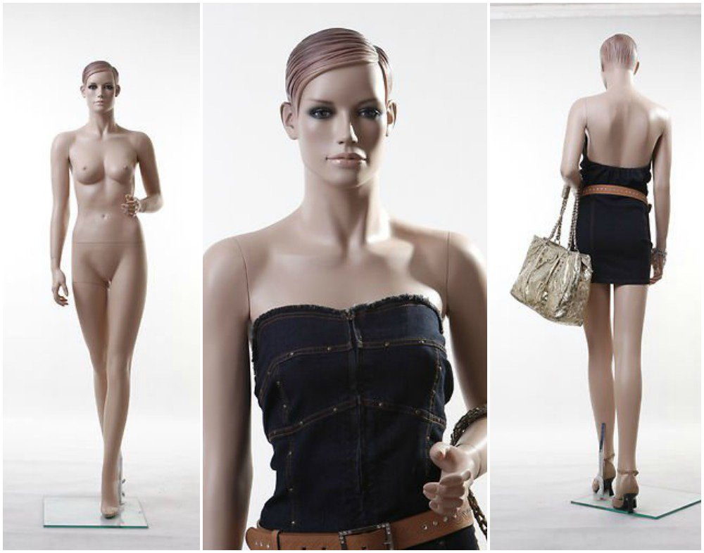 ZM-2910 - Juliette - Slim Realistic Tall Female Mannequin