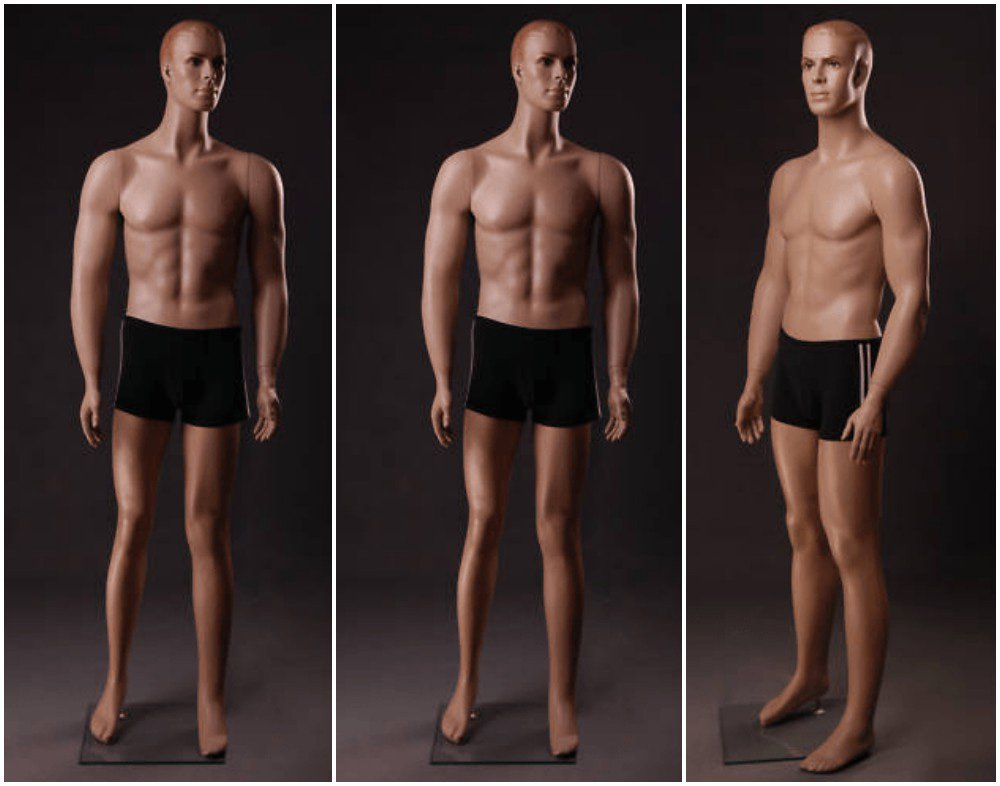 ZM-2914 - Joshua - Slim Athletic Tall Male Mannequin