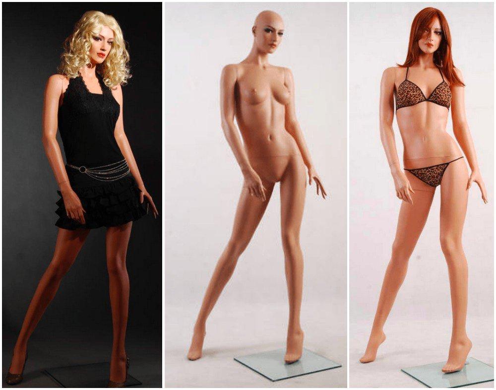 ZM-2915 - Arya - Slim Realistic Sexy Tall Female Mannequin