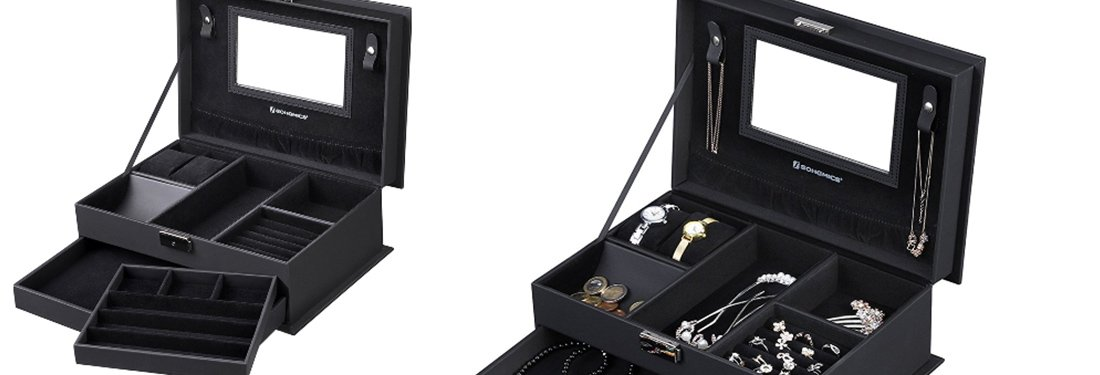 The Best Black Jewelry Boxes