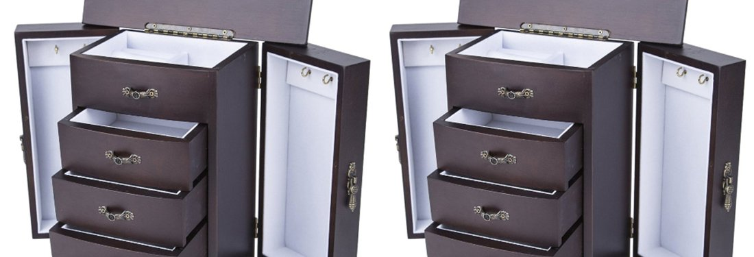 The Best Tall Jewelry Boxes