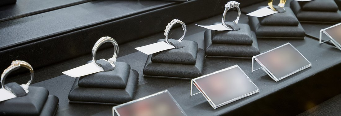 Wedding Ring Display Ideas