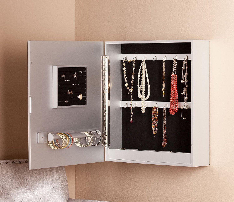 The 15 Best Wall Mounted Jewelry Armoires Zen Merchandiser